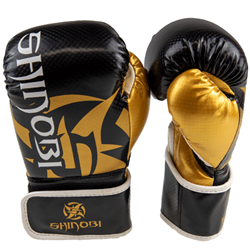Shinobi Sekiro Boxing Gloves - Black/Gold